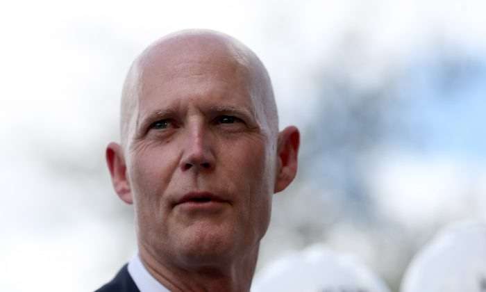 Florida Governor Rick Scott in Hialeah, Fla., on March 9, 2015. (Joe Raedle/Getty Images)