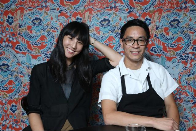 Erika Chou and Doron Wong of Yunnan BBQ. (Thomas Iannaccone)