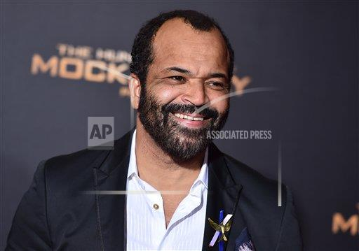 "Jeffrey Wright arrives at the Los Angeles premiere of ""The Hunger Games: Mockingjay - Part 2"" at the Microsoft Theater on Monday, Nov. 16, 2015. (Jordan Strauss/Invision/AP)"