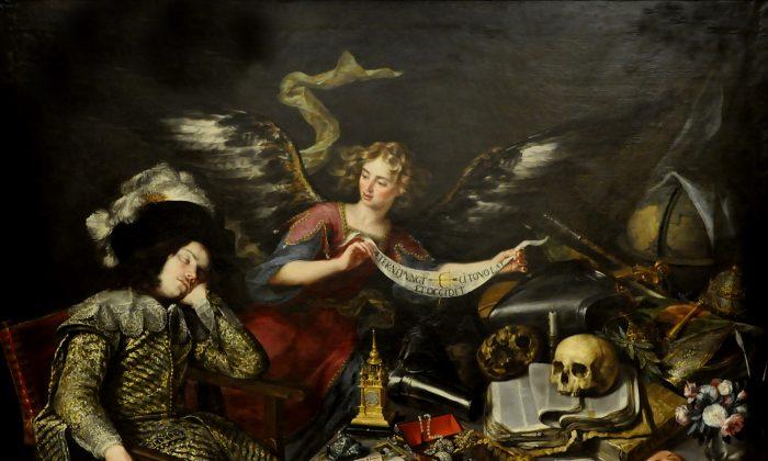 The Knight's Dream, ca. 1655 by Antonio de Pereda. (Public Domain)