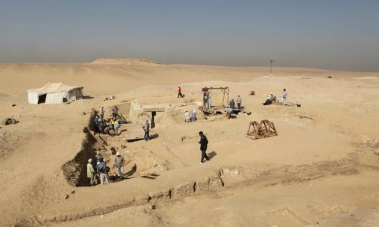 4,500 Year-Old Egyptian Boat Unearthed at Abusir Pyramids Site
