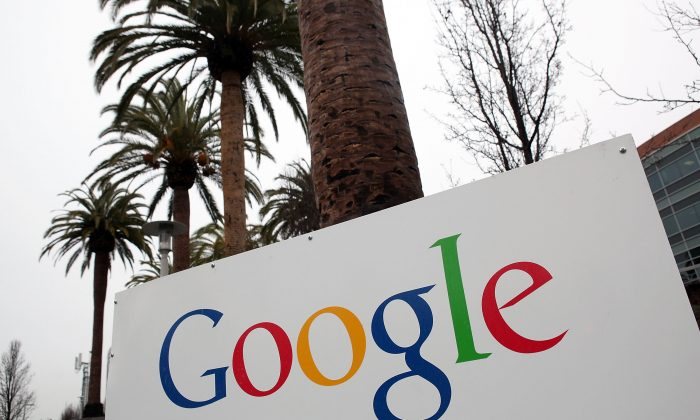 In one of the bright spots of U.S. corporate earnings, Alphabet, the parent company of Google, reported 2015 fourth quarter earnings that helped its stock price rise to a level making it a more valuable company than Apple. (Justin Sullivan/Getty Images)