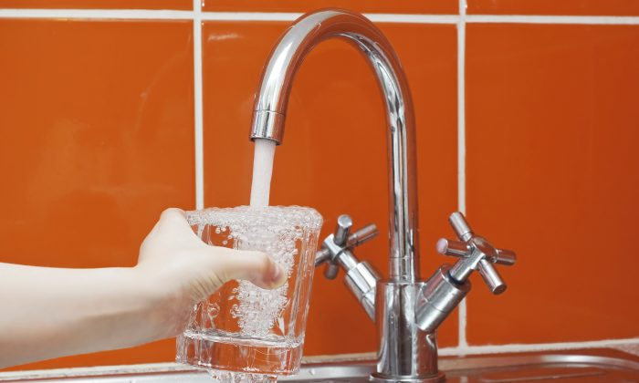 According to the Environmental Protection Agency, water containing more than 15 ppb of lead is too much. (NadezhdaShour/iStock)