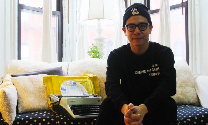 New York-based Thai artist Nutthawut Siridejchai.