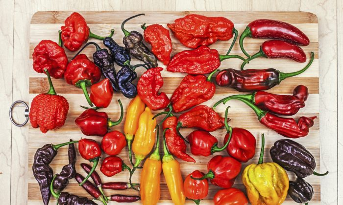 Peppers come in a variety of colors, shapes, and heat levels. (danez/iStock)
