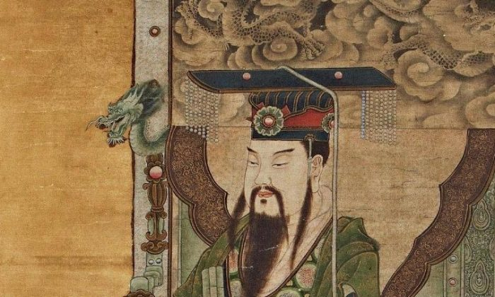 A Ming Dynasty depiction of the Great Jade Emperor (Public Domain)