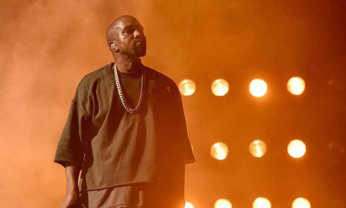 Musician Kanye West performs onstage at the 2015 iHeartRadio Music Festival at MGM Grand Garden Arena on September 18, 2015 in Las Vegas, Nevada. (Kevin Winter/Getty Images for iHeartMedia)