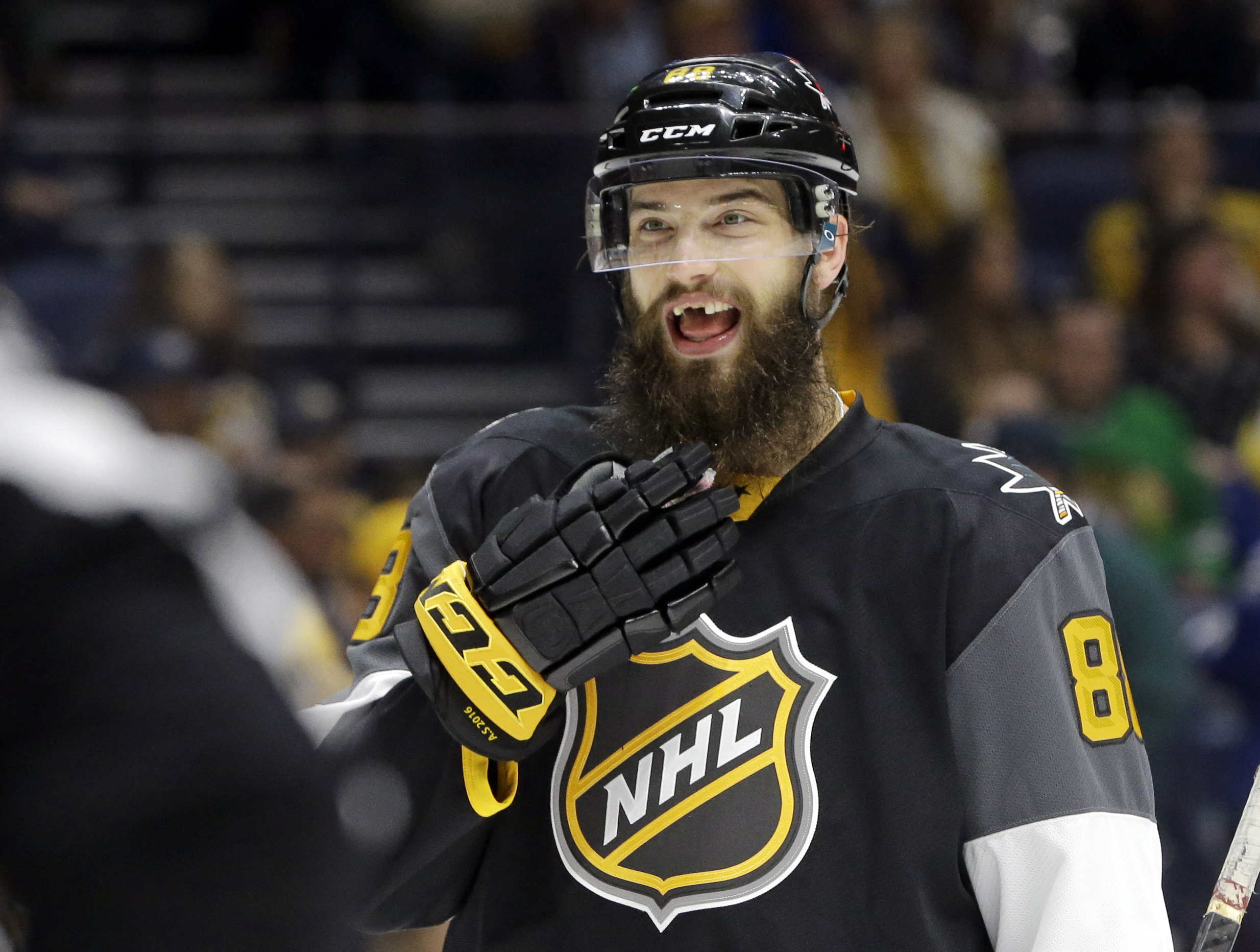 grin and bear it nhl players say losing teeth part of game game