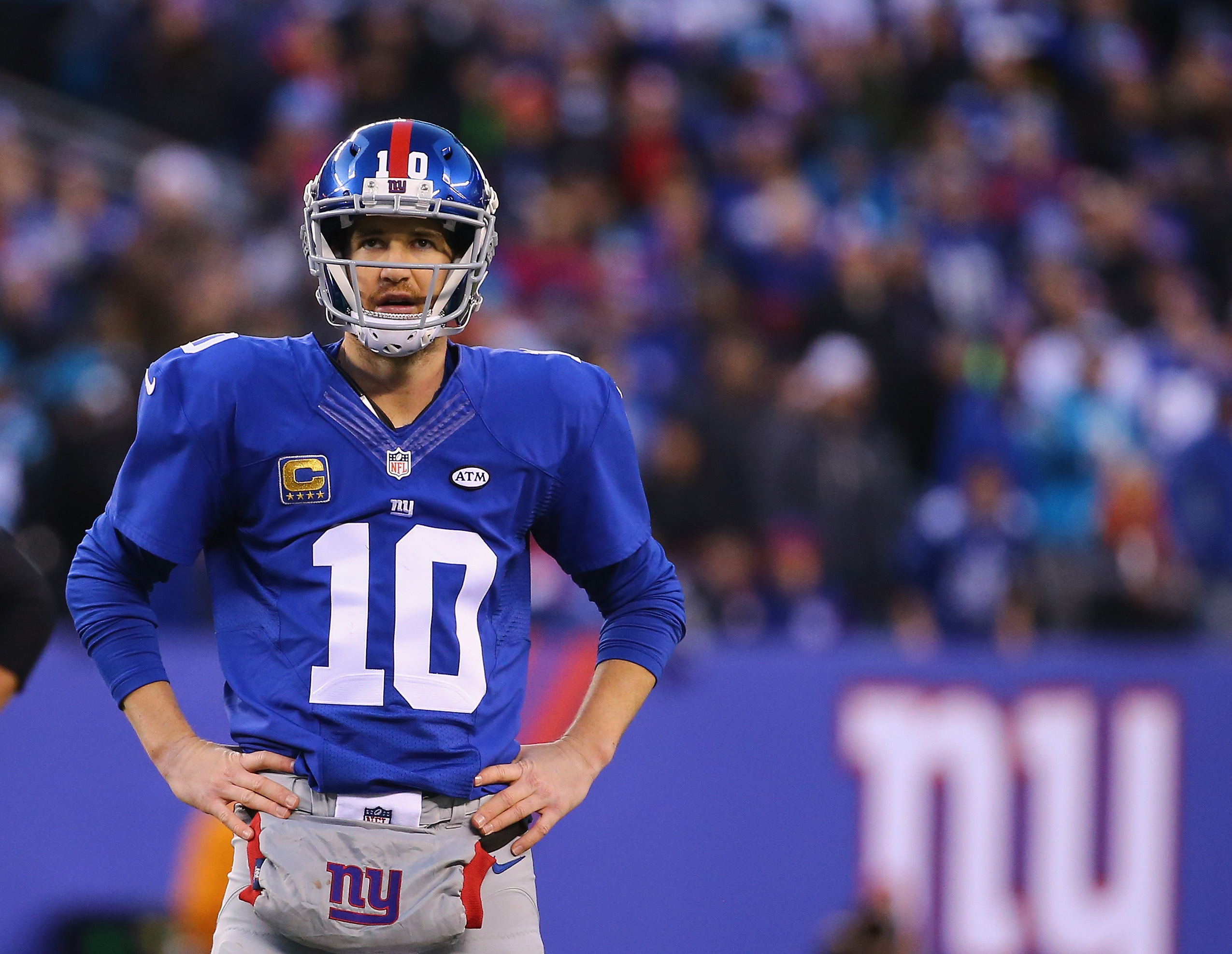 Watch: Peyton Manning Pokes Fun at Eli Manning's Super Bowl Stare on 'The Tonight Show'