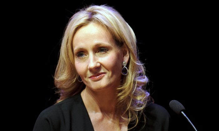 Author J.K. Rowling attends photocall ahead of her reading from 'The Casual Vacancy' at the Queen Elizabeth Hall on September 27, 2012 in London, England. (Ben Pruchnie/Getty Images)
