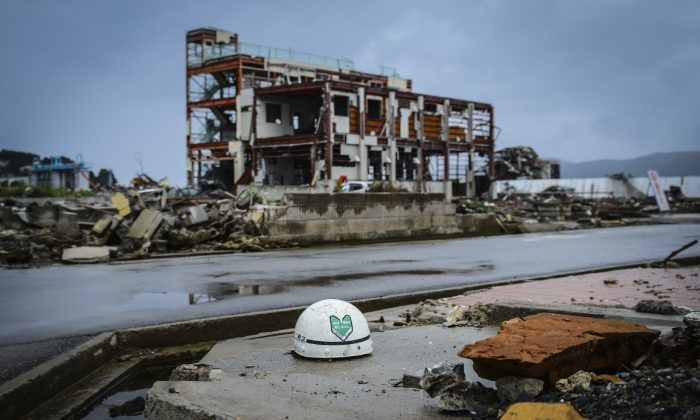 Ischinomaki, Miyagi Prefecture, Japan, on Aug. 21, 2011, six months after a tsunami hit. (Egadolfo/iStock)
