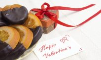 Dark Chocolate-Drizzled Blood Oranges and Lemons