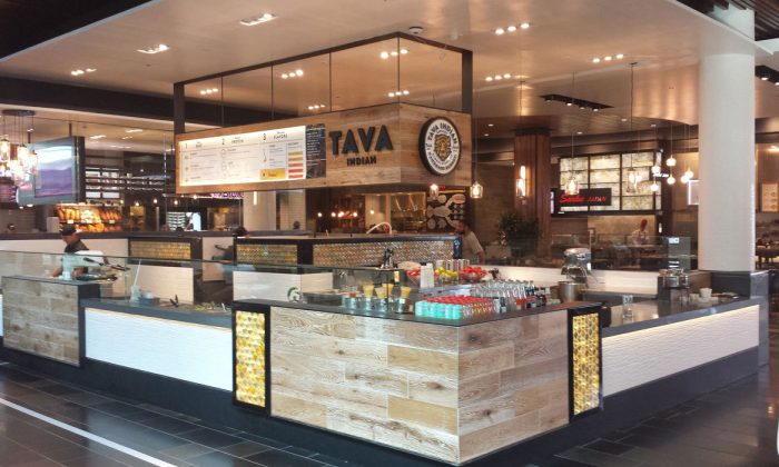 Tava Indian Kitchen's restaurant at the Valley Fair Mall in San Jose, Calif. (Courtesy of Business Wire)