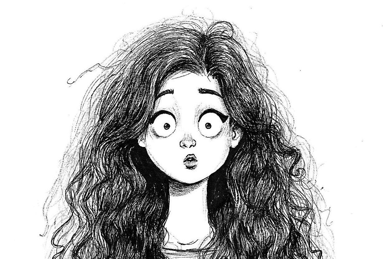 Adolecente de cabello risado mamando - 2 part 5