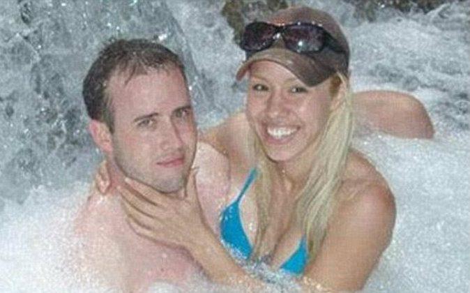 Travis Alexander and Jodi Arias in a file photo. (Myspace)