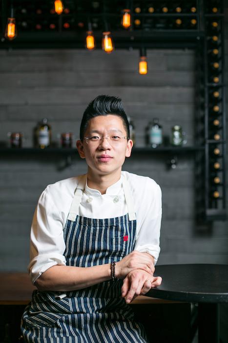 Chef-owner Franco Lee. (Samira Bouaou/Epoch Times)