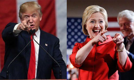 Clinton, Trump Cemented as 2016 Leaders; GOP Desperate