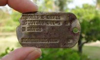 Fallen US WWII Hero's Army Dog Tag Found on Pacific Island