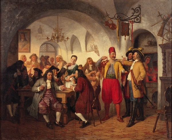 Vienna's first coffee house. (Public Domain)