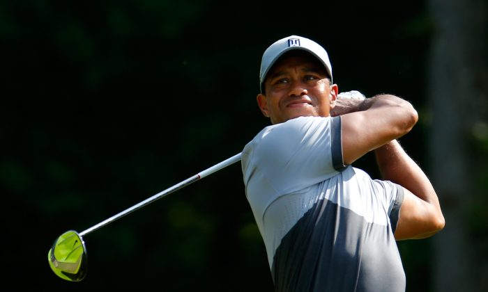 Tiger Woods has been chasing Jack Nicklaus' record of 18 majors for quite some time. (Kevin C. Cox/Getty Images)