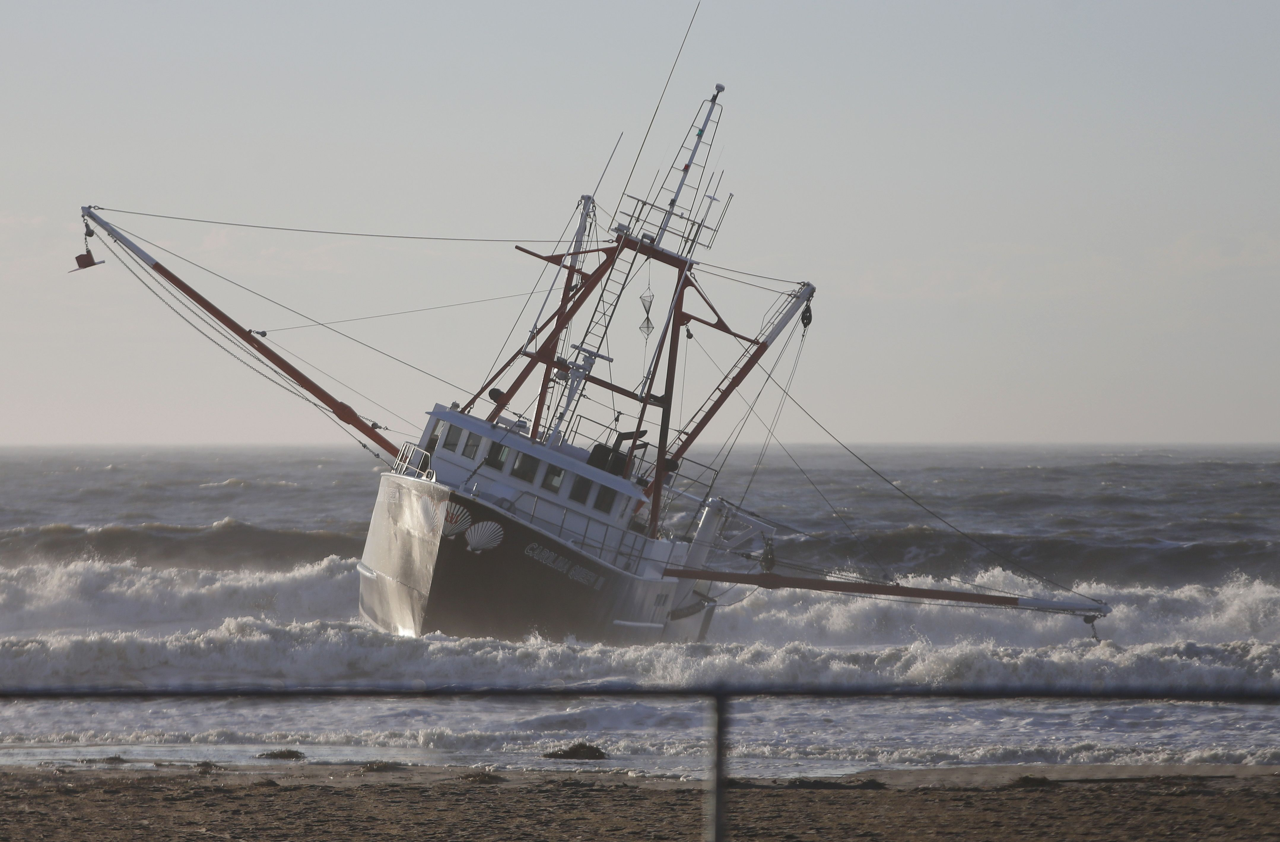 Coast guard vessel flips over while responding to grounded for Fishing in new york city