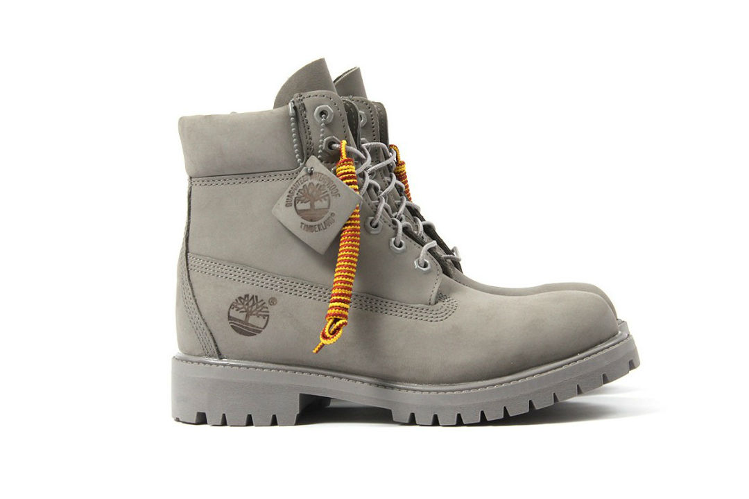 Some People Are Claiming New Timberland Mono Grey Boots Have A Noose