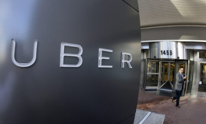 The headquarters of Uber in San Francisco. (AP Photo/Eric Risberg, File)