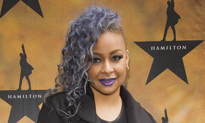 """In this Aug. 6, 2015 file photo, Raven-Symone attends the Broadway opening night of """"Hamilton"""" at the Richard Rodgers Theatre in New York. (Photo by Charles Sykes/Invision/AP, File)"""