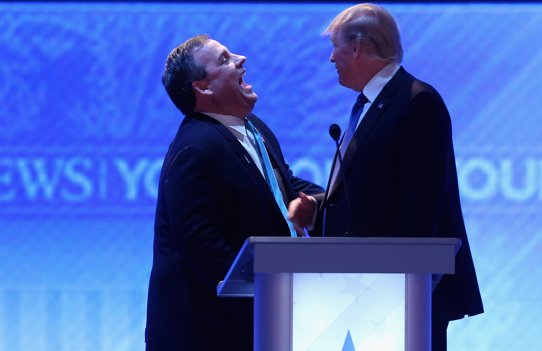 Chris Christie Endorses Donald Trump for President
