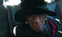 106-Year-Old Woman Says 'Voting Is More Important Than My Life'