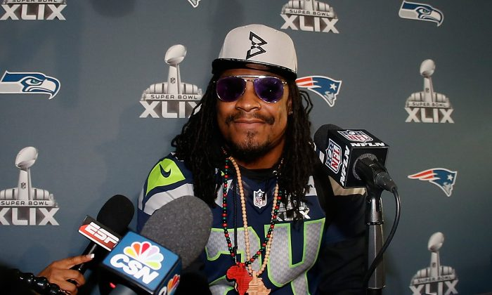 Marshawn Lynch has made five Pro Bowls in nine NFL seasons. (Christian Petersen/Getty Images)
