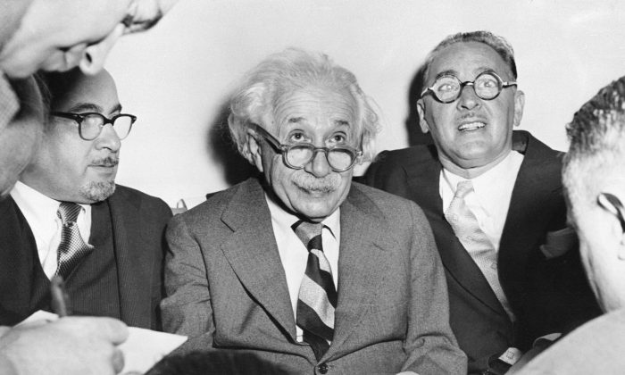 New research shows that knowing about the challenges that great minds such as Albert Einstein faced on their road to success has the ability to improve student's performance. (-/AFP/Getty Images)