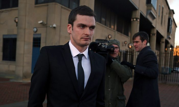 Soccer star Adam Johnson may face jail time. (Nigel Roddis/Getty Images)
