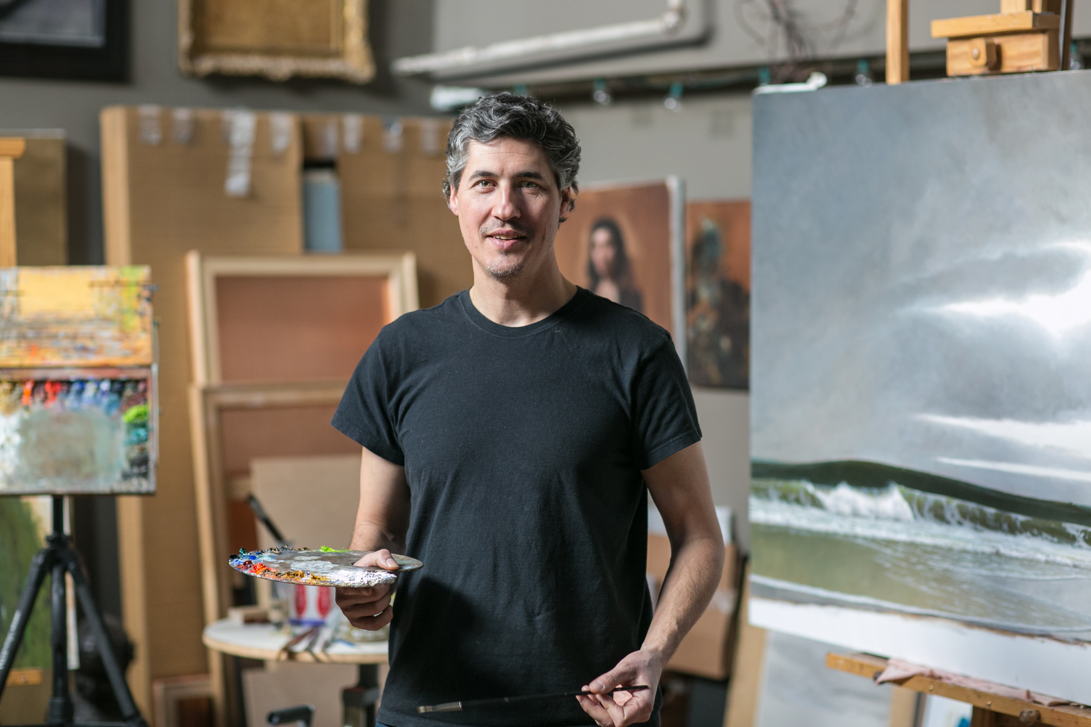 Artist Brendan Johnston's Profound Search to Affirm Life