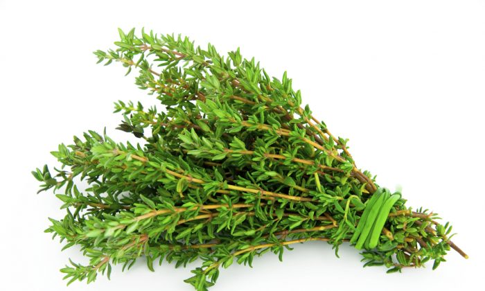 Fragrant thyme was once believed to bolster courage. (zeleno/iStock)