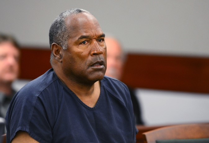 OJ Simpson Smiles for the Camera in New Mug Shot