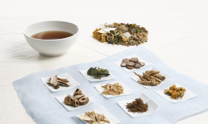 Korean herbal medicine. (Courtesy of Dr. Seo)