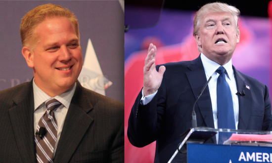 Glenn Beck Under Investigation After Threatening to Stab Donald Trump