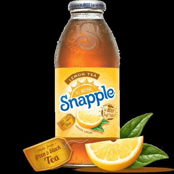 Snapple Lemon Tea. (Snapple.com)