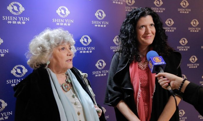 Maria Pia Archer and her daughter Jane Archer will make seeing Shen Yun a tradition. (NTD Television)