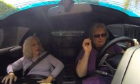 Two Grandmas Have a Blast Driving Around in Lamborghini