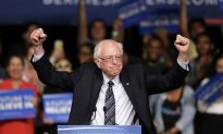 Take a Look at This Anti-Bernie Sanders Meme That's Going Viral: 'I took half your sign'