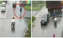 Chinese Driver's Failure to Observe Etiquette Results in Bad Accident