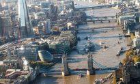 A Bird's Eye View of London's Landmarks