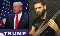 Watch: Bass Player Riffs Over Montage of Donald Trump Saying 'China'