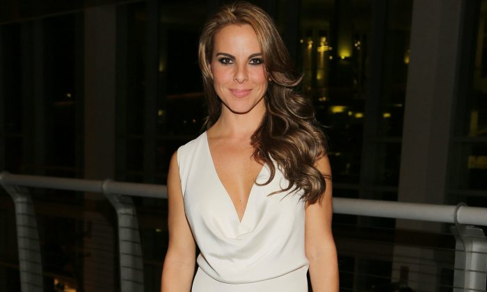 Kate del Castillo, September 4, 2014 in Miami, Florida.  (Photo by Alexander Tamargo/Getty Images for THAmas/Screen Gems)