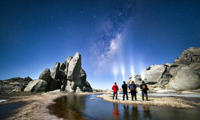 Clear skies provide good views of The Milky Way, Kosciuszko National Park, New South Wales. (Luke Tscharke/WWF-Aus)