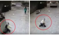 4-Year-Old Boy Survives a Hit-And-Run in China
