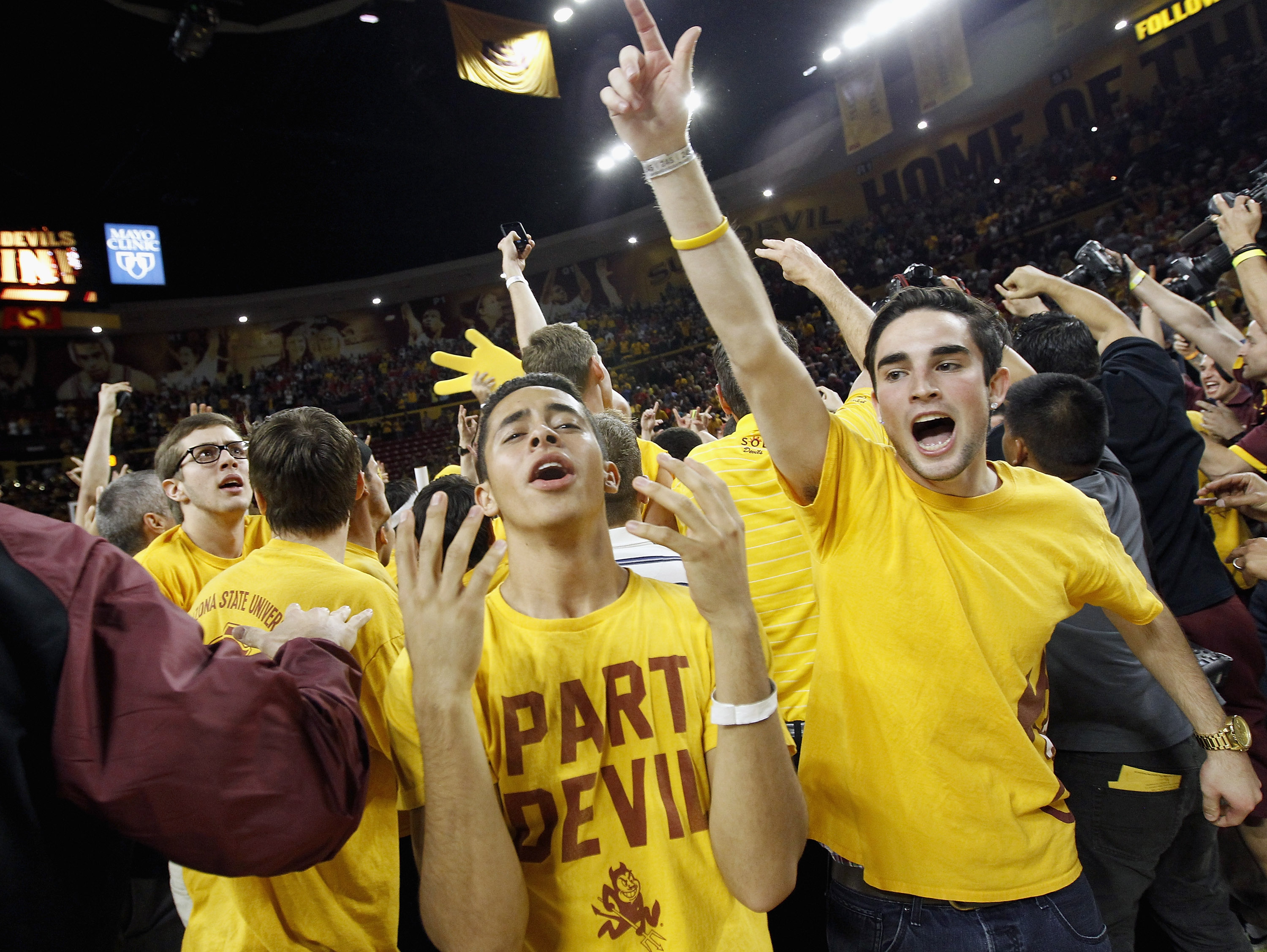 Watch: Arizona State Students Get Fooled into Talking About Team's Tournament Chances