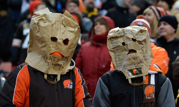 The Cleveland Browns have been to the playoffs just twice since 1989. (Jason Miller/Getty Images)
